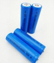 2 pièces 5000 mAh 3.7 V 18650 pour NCR Li-ion batterie Rechargeable paquet de cellules pour UltraFire la capacité réelle de 2200 mah
