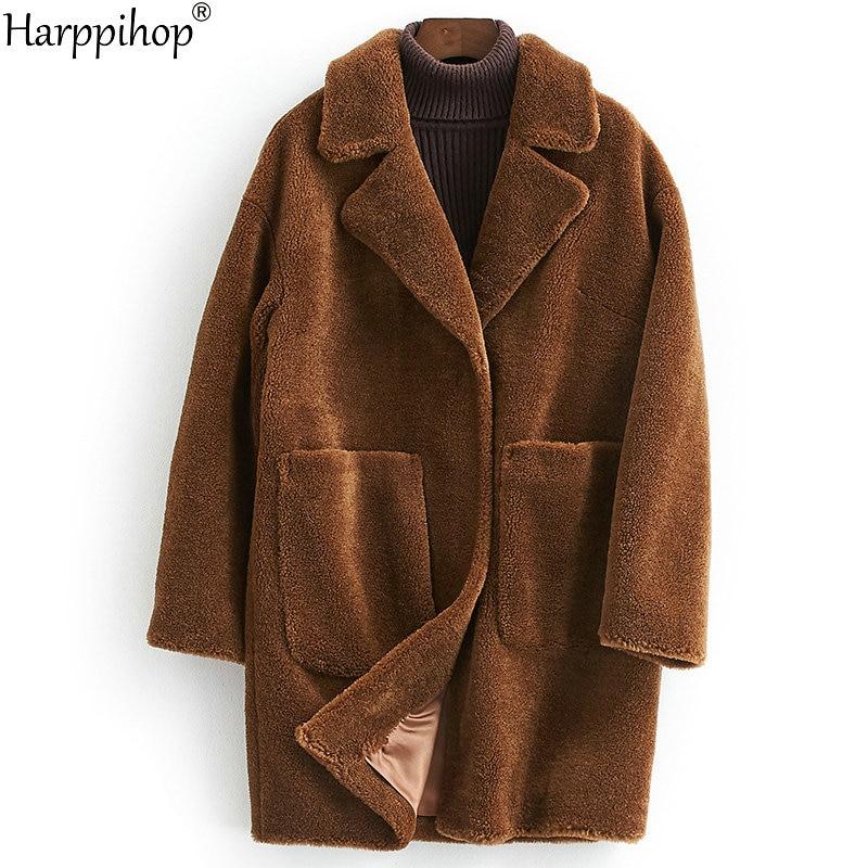 women's winter warm real wool fur jacket lapel collar leisure girl coat lady jacket overcoat aorice b1810106 women s winter warm real wool fur jacket hood collar leisure girl coat lady jacket over size parka