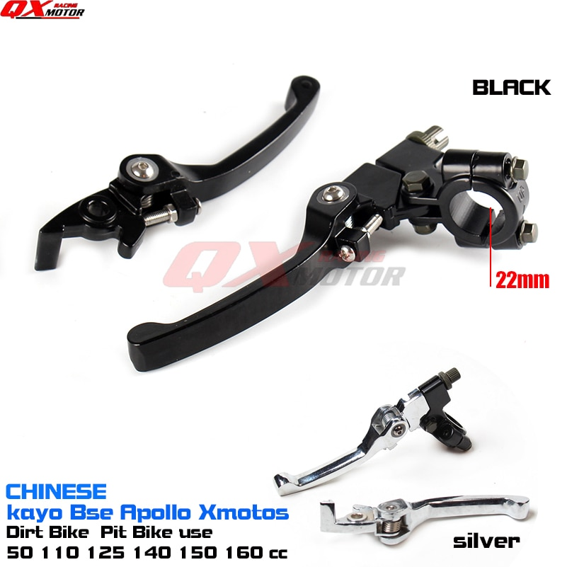 CRF KLX Pit Pro Xmotos BSE KAYO Pit Dirt Bikes, piezas de aleación de aluminio, palanca de embrague plegable, juego de palanca de freno, Envío Gratis