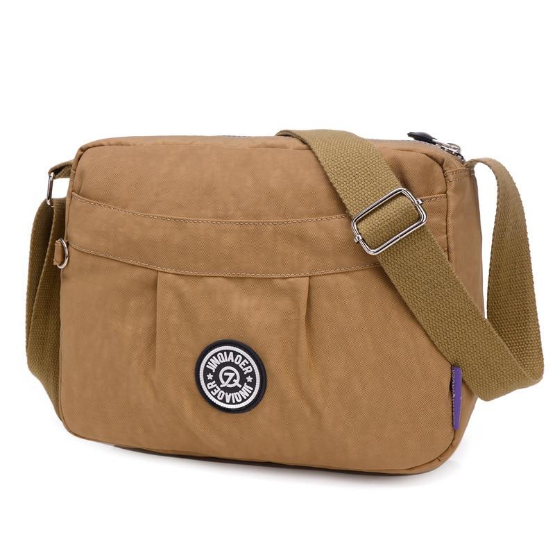 2018 new Casual fashion Women's over-the-shoulder bags Shoulder bag female women messenger bags nylon waterproof 15 colour