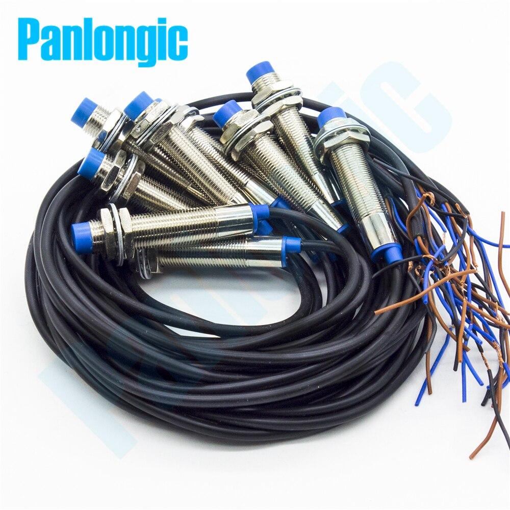10 قطعة جديد LJ12A3-4-Z/بواسطة جهاز استشعار مقاربة استقرائية التبديل 4 مللي متر كشف PNP DC6-36V لا عادة مفتوحة