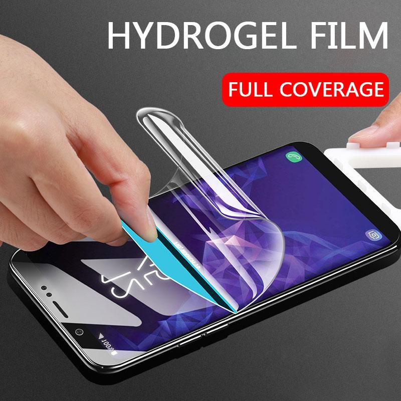 15D полноразмерная мягкая Гидрогелевая пленка для Samsung Galaxy S8 S9 S10 Plus, Защитная пленка для экрана Samsung Note 8 9 S7 Edge, не стекло
