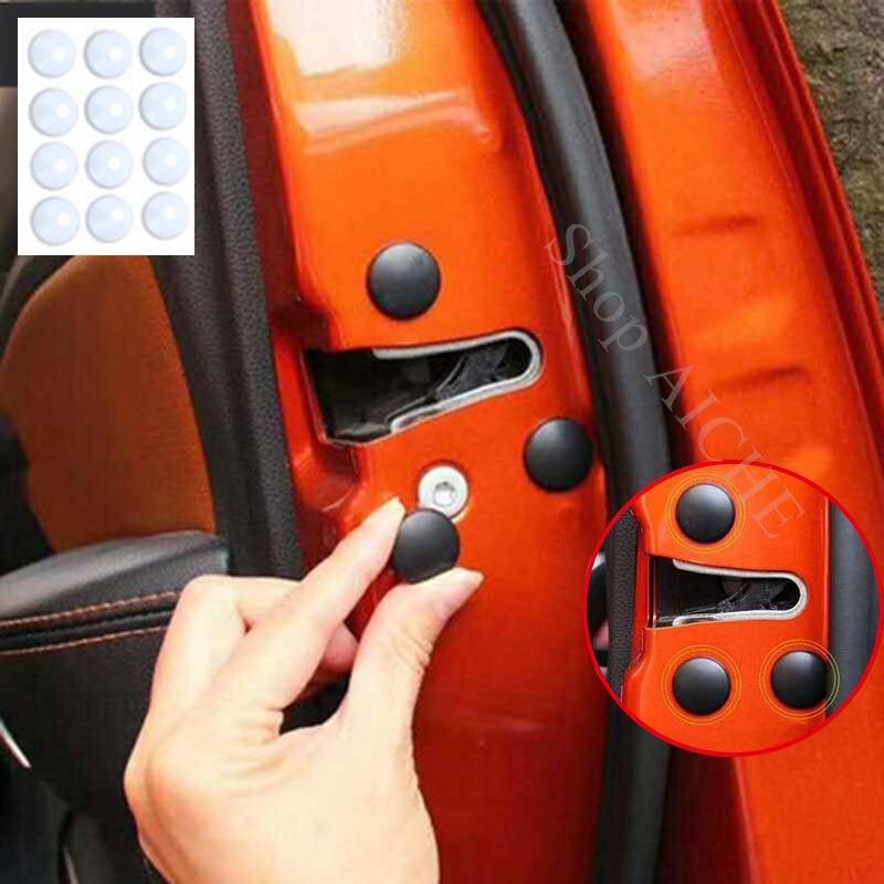 12 piezas de accesorios de cubierta protectora de tornillo de bloqueo de puerta de coche para Volkswagen VW polo up golf mk5 mk6 mk7 t4 t5 estate sharn combi