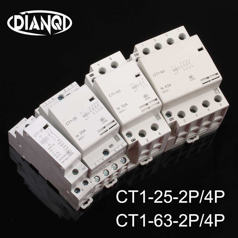 KOHTAKTOP-auxiliar de partición CT1-25 16A 25A 20A 2P 2NO 4P 4NO CT1-63...