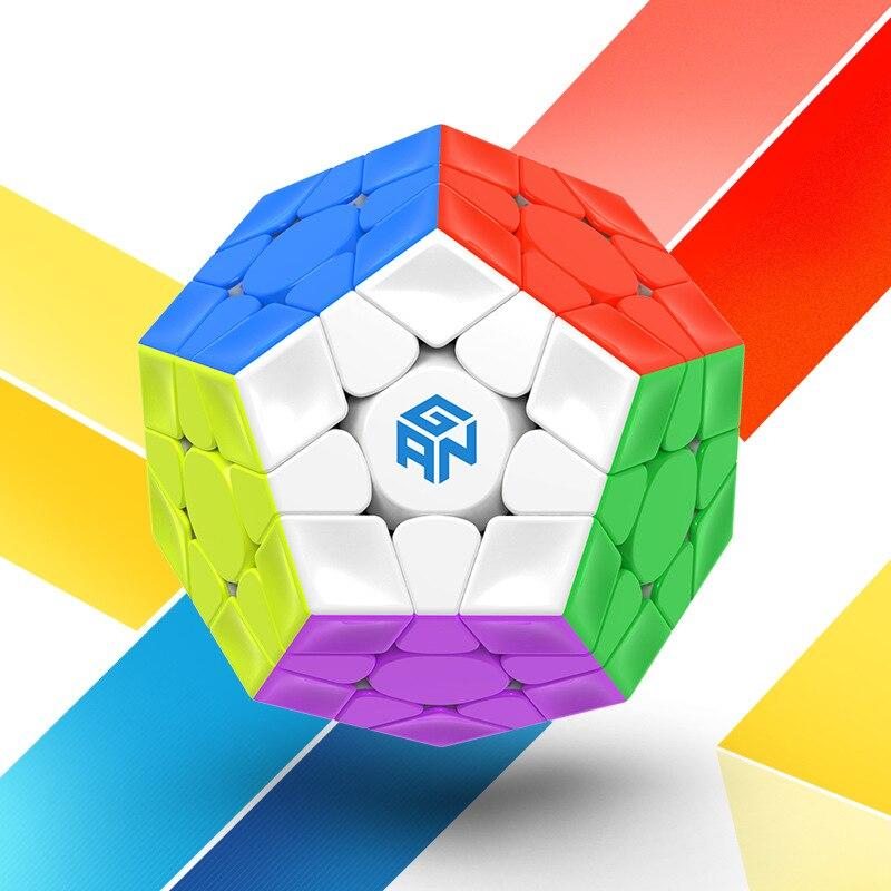 ألعاب تعليمية للأطفال ألعاب مجسم مغناطيسي ميغامينكسدز 3 × 3 × 3 ألعاب مكعبة سريعة الالتصاق احترافية من 12 جوانب