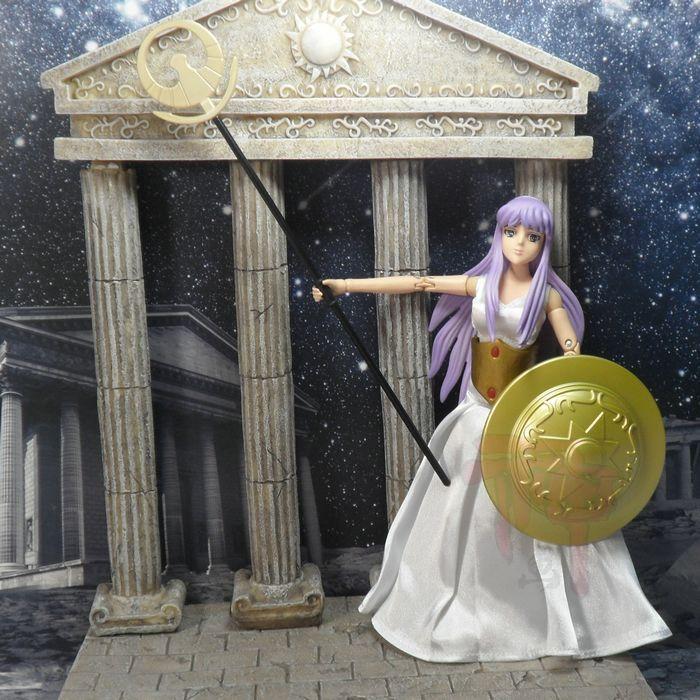 Modèle FANS version hongkongaise de la déesse athéna Saint Seiya mythe tissu Kit de luxe