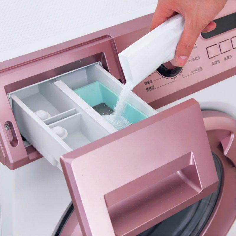 Limpiador de lavandería, limpieza de cocina en polvo, limpiador de máquina de lavado de descontaminación eficaz, agente de Limpieza de tanques, bolsa de espuma fuerte