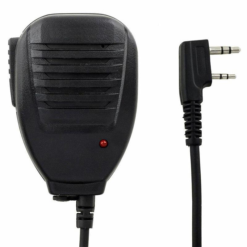 Original PTT Handheld Speaker Two Way Radio Speaker Microphone for walk talkie for Baofeng UV 5R 5RA 5RE 5R Plus 888s Promotion