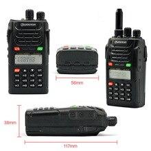 2 ensembles WOUXUN KG-UVD1P double bande Radio bidirectionnelle avec 1700 mAh batterie FM émetteur-récepteur UVD1P talkie-walkie UHF VHF Radio jambon