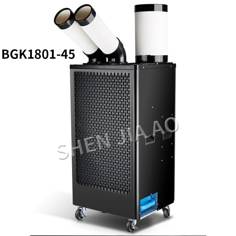 BG1801-45 condicionador de Ar industrial compressor do condicionador de ar móvel tipo comercial refrigerador de ar frio único integrado