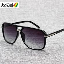 JackJad 2020 Fashion Men Cool Square Style Gradient Sunglasses Driving Vintage Brand Design Cheap Su
