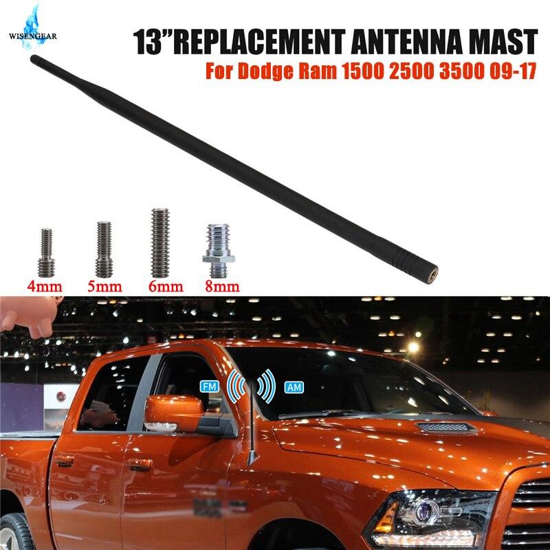 Car Roof AM FM Antenna Radio Amplifier Antena Auto For Dodge Ram 1500 2500 3500 2009-2017 Digital TV Signal Booster Aerial Mast