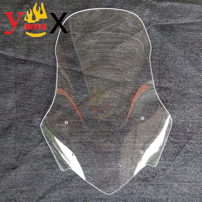 Clear/Smoke Motorcycle Modified Windscreen Windshield Front Deflector Wind Glass For Honda CB500X 2013-2015 2014 13 14 15
