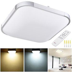 LED Ceiling Light Flush Mount Kitchen Home Fixture Lamp Remote Control Home Decoration For Living Room Bedroom