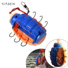 Vissen pesca crochet de pêche pour la pêche 1 pc abreuvoirs de pêche anti-bombe suspendus crochet anti-Explosion appât de poisson