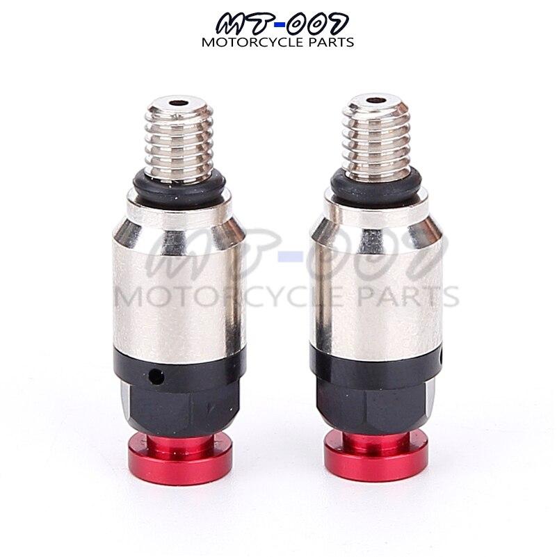 Красный M5 0,8 мм вилка воздушный клапан CR CRF CR125 CR150 CR250 CR500 CRF230 CRF250R CRF250X CRF450R CRF450X мотоцикл Showa KYB