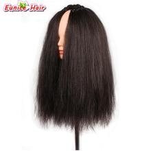 Crochet Hair Extension Synthetic Braiding Hair 26 stands Pre loop 18inch kinky Yaki Straight Hair for crochet braids 100g