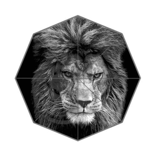 Король леса Лев лучший хороший классный дизайн Портативный Модный стильный полезный Складной Зонт Прямая поставка JR-002