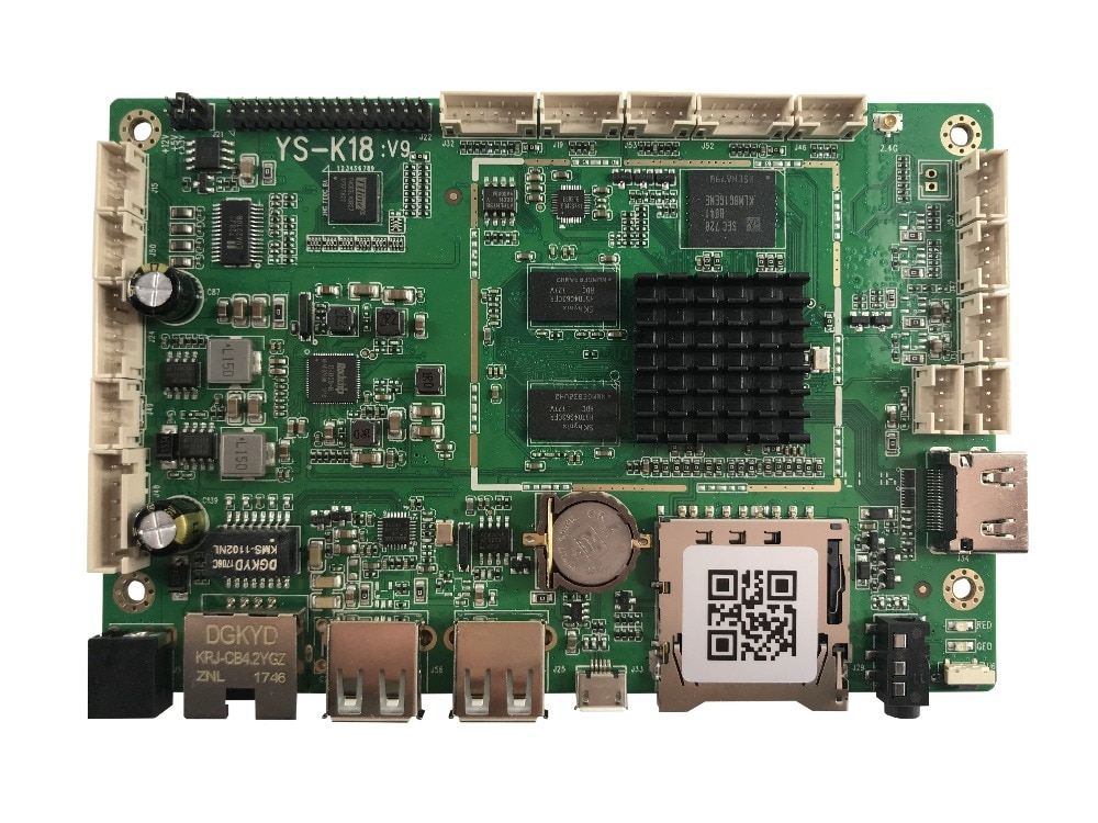 Placa de red M8V9 compatible con panel lcd LVDS con 1920*1080. 60 HZ