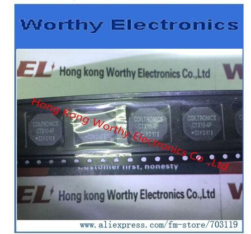 Envío gratis 10 unids/lote CTX10-4P-R CTX10-4P CTX10 4P INDUCT ARRAY 2 bobina 9.88UH SMD