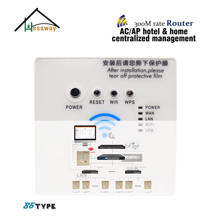 مكرر مزدوج النطاق wi-fi ، وضع تغطية AC AP ، موجه للتحكم المركزي ، إدارة الفندق ، الفيلا ، الأسرة