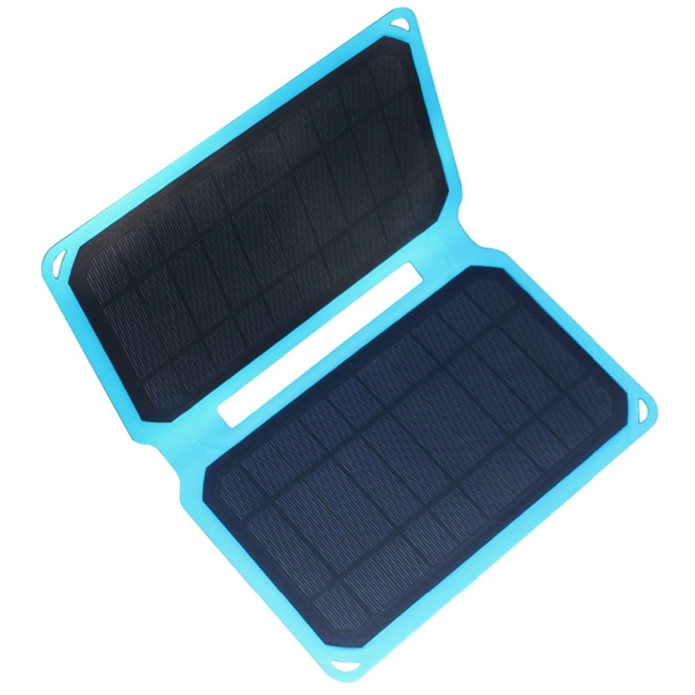 Solar Charger 10W Solar Panel with USB Port Waterproof Foldable Camping Travel Charger For Mobile phone PC iPhone iPad