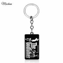 MQCHUN 영화 대부 에나멜 금속 열쇠 고리 열쇠 고리 펜던트 선물 기념품 쥬얼리 Vito Corleone 2017