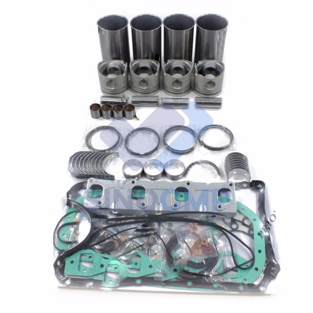 محرك إعادة بناء عدة ل ميتسوبيشي 4M40 4M40TD محرك سوميتومو SH60 حفارة القط 307B