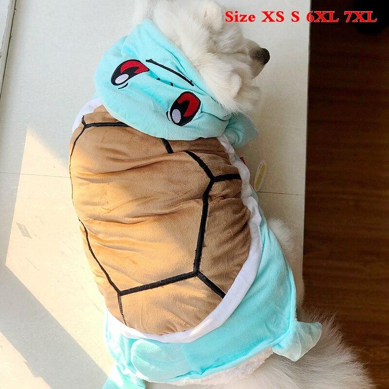 Tortuga gran perro mascota ropa de invierno cálido grueso pequeño XXXL XXXXL más animales chaquetas abrigo mercancías para Labrador Yorkie Terrier