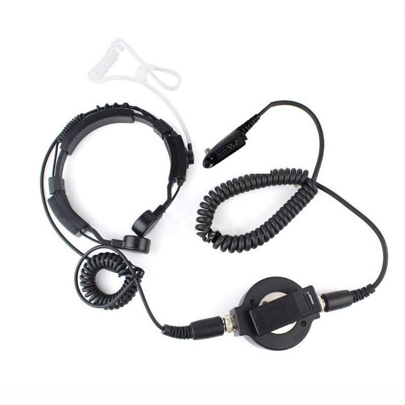 Large round waterproof PTT catheter earphone for motorola GP340 GP380 GP328 GP329 HT750 HT1250 MTX850 PRO5150 two way radio