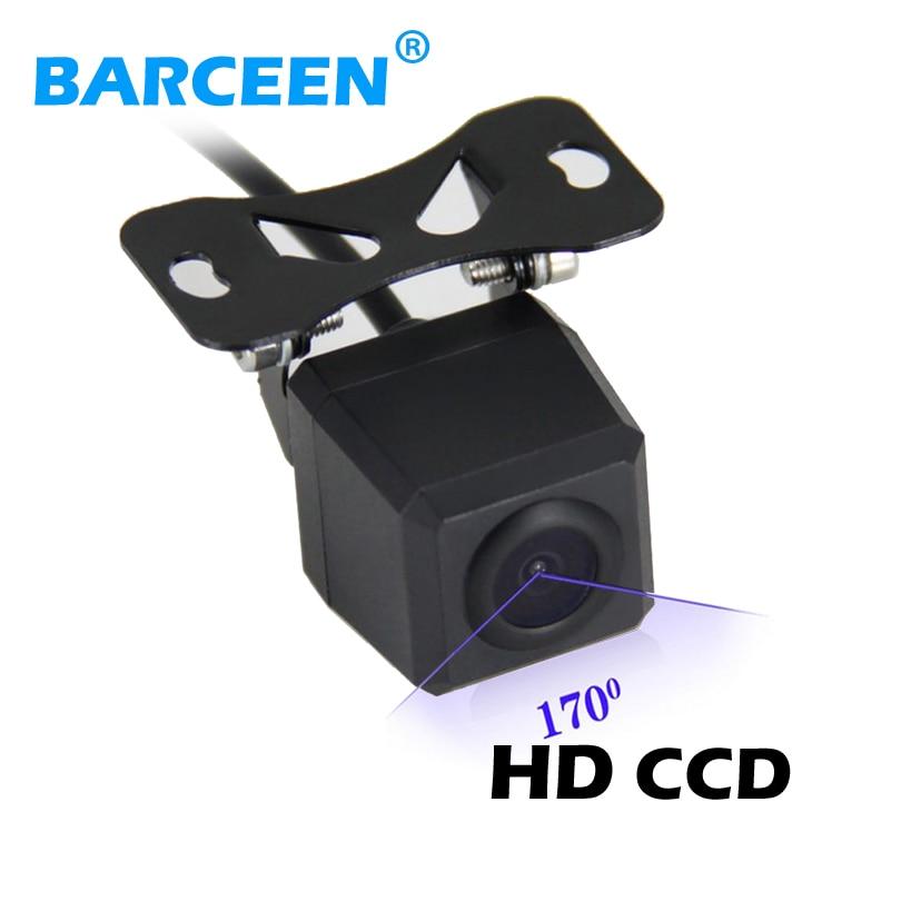 Venta directa de fábrica cámara de marcha atrás de coche 170 grados impermeable visión nocturna cámara de visión trasera aparcamiento 12V envío gratis