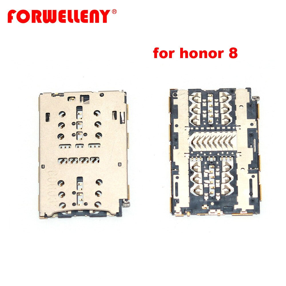 for huawei honor8 Honor 8 Sim Card Reader Holder Pins Tray Slot Part FRD-AL00 FRD-L19 FRD-L09 FRD-L14 fender dlx nashville tele rw frd