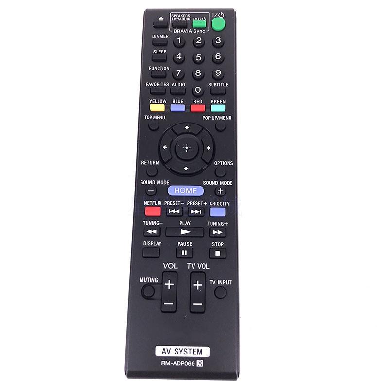 Control remoto RM-ADP069 para SONY AV BDV-T57 BDV-F7 HBD-F7 BDV-E280 BDV-E290 BD-E580 BDV-EF220 BDV-N790W BDV-N590 HBD-T58