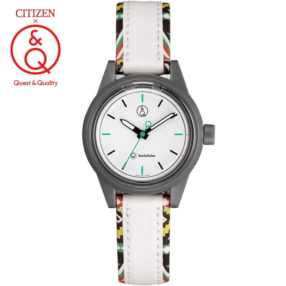 Citizen Q&Q watch women ladies Gift Clock Top Luxury Brand Waterproof Sport Quartz solar women watches Neutral watches relogio enlarge