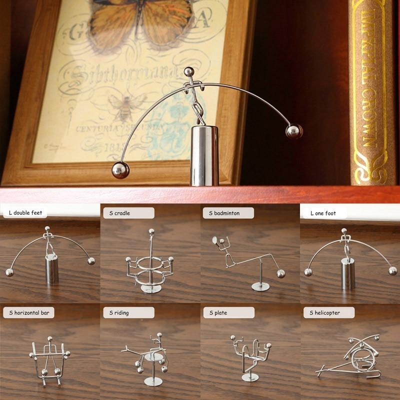 Тяжелая атлетика маятник Ньютона Ньютон Колыбель домашний декор стакан настольная игрушка вечный баланс мяч Физика Наука