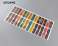 OCGAME 280 pcs/lot conception client pour Gameboy étiquette autocollant pour GBA Console étiquette arrière