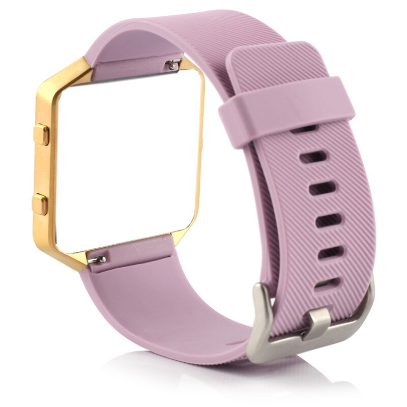 Bracelet for Fitbit Blaze Band Soft Silicone pure color Sports Watch Band Wrist Strap with Buckle for Fitbit Blaze Small Size men and women sport casual edition soft silicon rubber sports watch band wrist strap for fitbit blaze with metal buckle frame