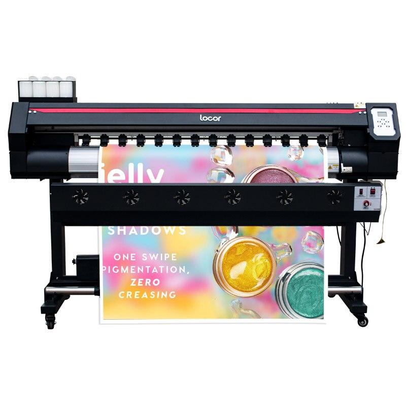Impresora solvente A3, impresora Digital de gran formato, cabezal Xp600, impresora Eco solvente de 1,6 M