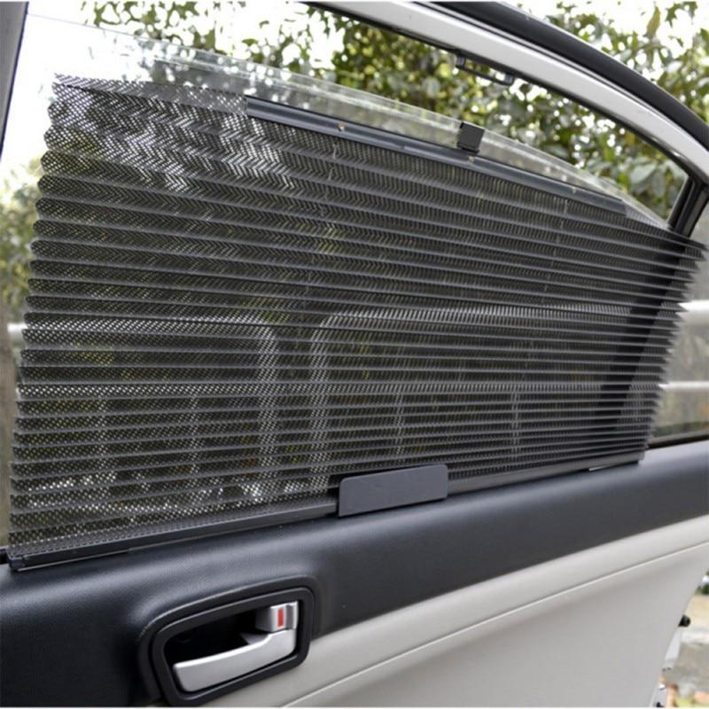 Coche camión autoretráctil cortina de ventana lateral protector solar parasol ciego