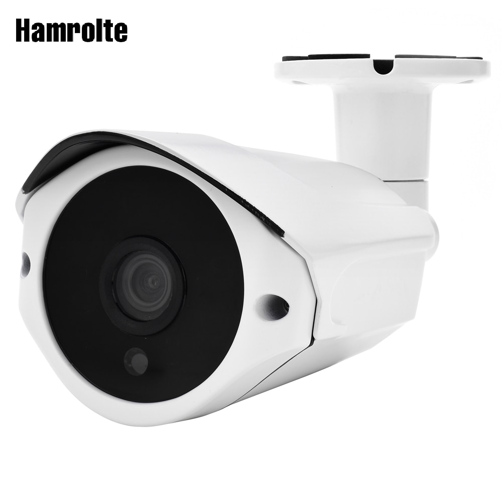 "Cámara para exteriores hamrotte 4MP IP, H.265 HI3516D + 1/3 ""OV4689, impermeable, ONVIF, detección de movimiento, teléfono XMEYE, acceso remoto"