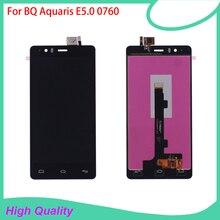 100% Guarantee LCD Display Touch Screen Digitizer Assembly For BQ Aquaris BQ E5 E5.0 0760 Mobile Pho