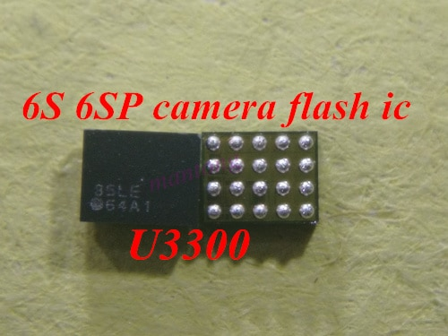 5 uds-100 Uds U3300 LM3564A1TMX 64A1 Cámara flash ic Dual LED controlador estroboscópico ic para iphone 6s 6s-plus