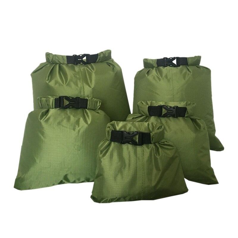 Водонепроницаемая сухая сумка, 5 шт., сумка для хранения на открытом воздухе с пряжкой, дорожные сумки для плавания и подводного плавания для...
