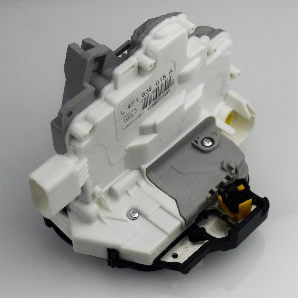 Actuador de cerradura de puerta de alimentación trasero izquierdo delantero derecho para AUDI A3 A6 C6 A8 para SEAT Exeo 8EI837015AA (4F1837015E) 4F1837016 4F0839016