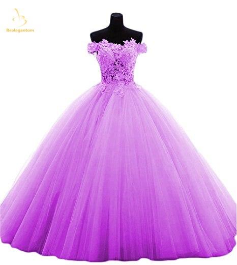 Bealegantom rojo Lila amarillo verde rosa Vestidos De quinceañera 2019 vestido De dulce 16 vestido Vestidos De 15 años QA1384