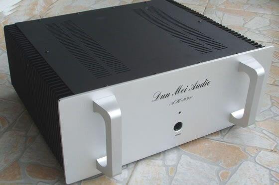 KYYSLB AR998 alumínio Cheio chassis amplificador/Hifi Amplificador Chassis/radiador Externo/amplificador caso