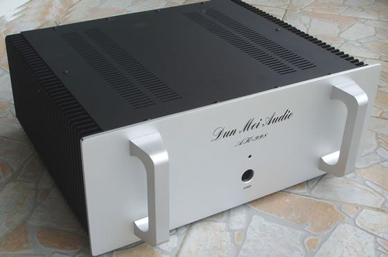 KYYSLB AR998 de aluminio completo amplificador chasis/amplificador Hifi chasis/externo radiador/carcasa de amplificador