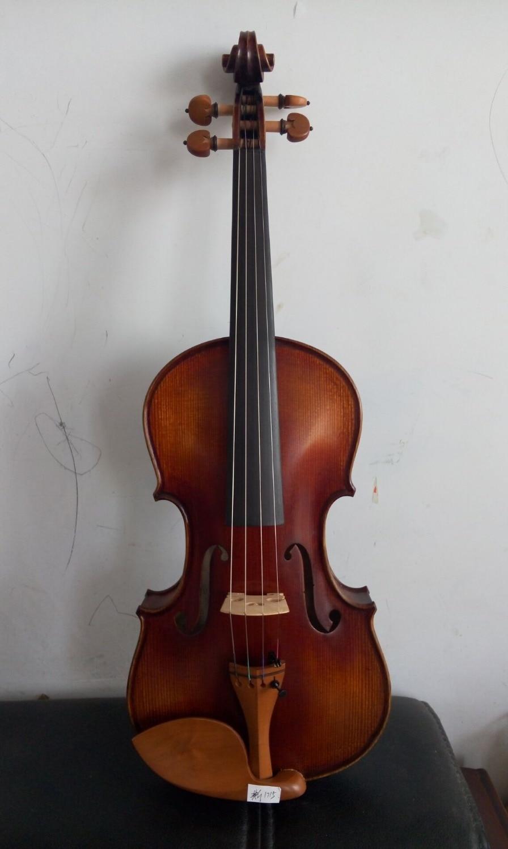 Hand Made Viool Stradi Model 1715, Antieke Oude Stijl Viool Met Mooi Geluid