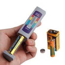 Battery Tester Digital Universal Battery Capacity Tester For AA/AAA/1.5V 9V Lithium Battery Power Supply Checker Measure Tool