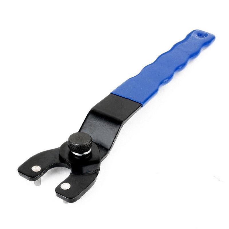 Llave de molinillo eléctrica ajustable, 1 unidad, tuerca de bloqueo, llave de Molinillo, equipo de taller, accesorios de molino de potencia, puntas de amoladora